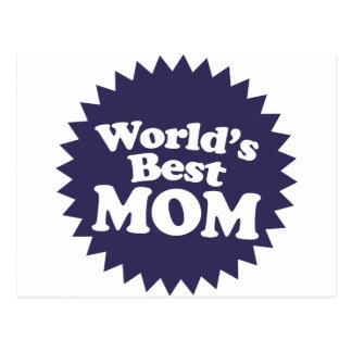 Cartão Postal A melhor mamã do mundo