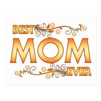 Cartão Postal A melhor mamã nunca