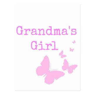 Cartão Postal A menina da avó