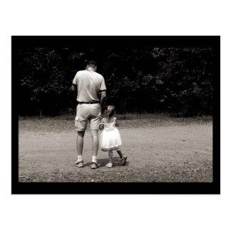 Cartão Postal A menina do pai