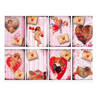 Cartão Postal A meu Cupido do dia dos namorados do vintage dos