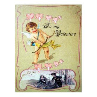 Cartão Postal A meus namorados