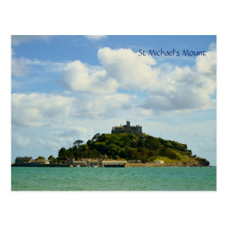 Cartão Postal A montagem Marazion Cornualha Inglaterra de St