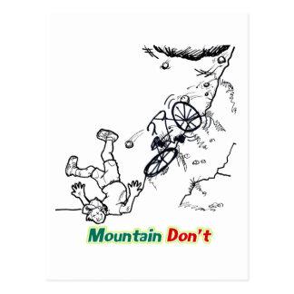 Cartão Postal A montanha não faz
