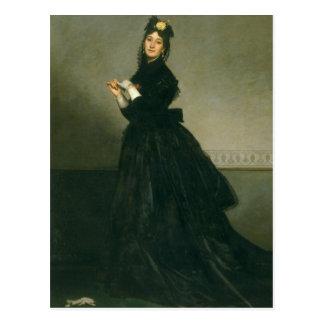 Cartão Postal A mulher com a luva, 1869
