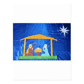 Cartão Postal A natividade
