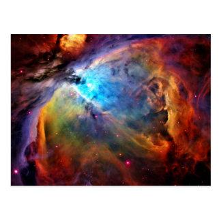 Cartão Postal A nebulosa de Orion