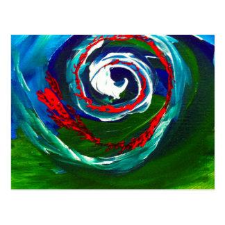 Cartão Postal A onda espiral da infinidade