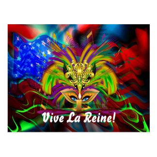 Cartão Postal A opinião da rainha do carnaval nota por favor