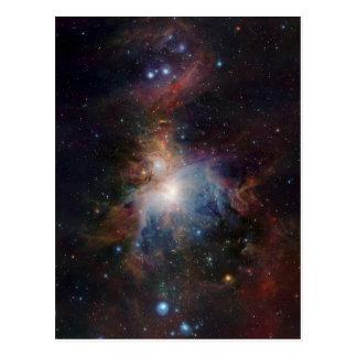 Cartão Postal A opinião infravermelha de VISTA da nebulosa de