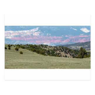 Cartão Postal A paisagem americana apedreja cordilheiras das
