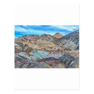 Cartão Postal (a paleta do artista) parque nacional de Vale da