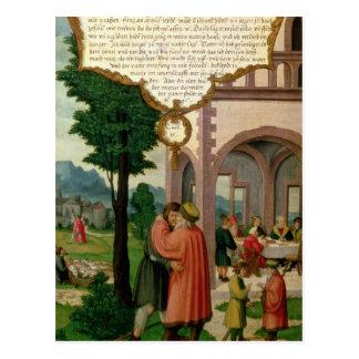 Cartão Postal A parábola do filho Prodigal