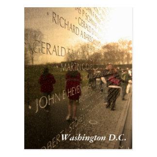 Cartão Postal A parede