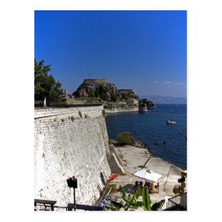 Cartão Postal A parede de mar