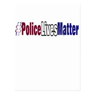 Cartão Postal # a polícia vive matéria