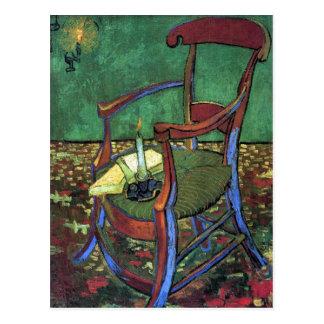Cartão Postal A poltrona de Paul Gauguin por Vincent van Gogh