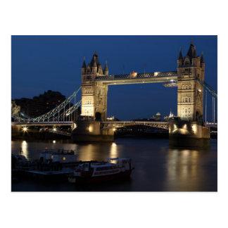 Cartão Postal A ponte da torre, Londres
