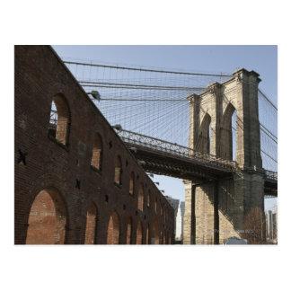 Cartão Postal A ponte de Brooklyn