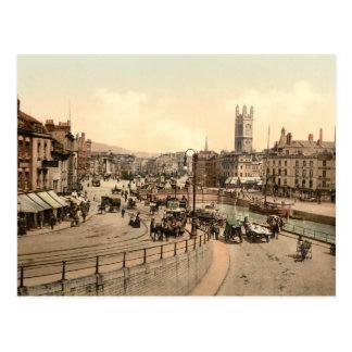 Cartão Postal A ponte de St Augustine, Bristol, Inglaterra