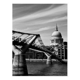 Cartão Postal A ponte do milênio