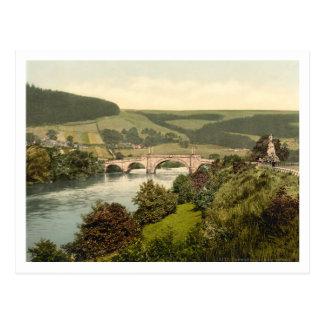 Cartão Postal A ponte do passeio, Aberfeldy, Scotland
