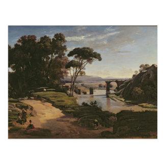 Cartão Postal A ponte em Narni, c.1826-27