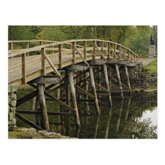 Cartão Postal A ponte norte velha, nacional minúsculo do homem