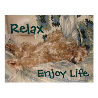 Cartão Postal A possibilidade relaxa