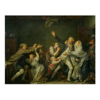 Cartão Postal A praga do pai ou o filho ingrato, 1777