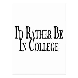 Cartão Postal A preferencialmente seja faculdade
