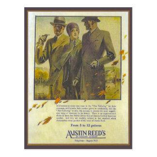 Cartão Postal A propaganda do vintage da réplica, Austin cobre,