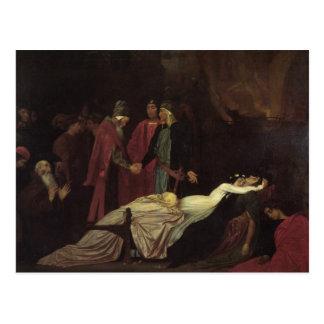 Cartão Postal A reconciliação do Montagues e do Capulets