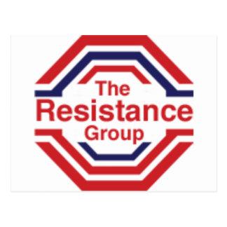 Cartão Postal A resistência