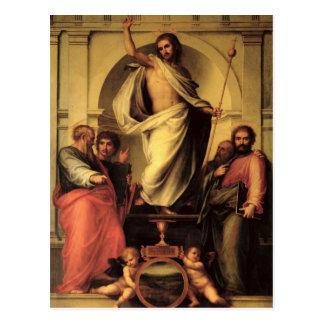 Cartão Postal A ressurreição do cristo