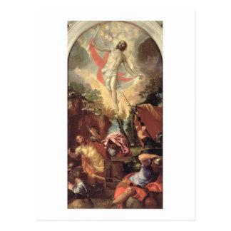 Cartão Postal A ressurreição do cristo (óleo em canvas)