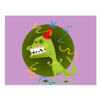 Cartão Postal A rocha de Dino - festa de aniversário do