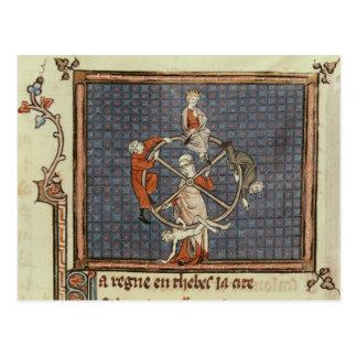 Cartão Postal A roda da fortuna, de Ovide Moralise