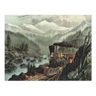 Cartão Postal A rota a Califórnia
