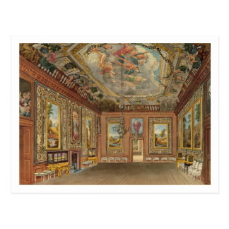 Cartão Postal A sala de estar da rainha, castelo de Windsor, 'do