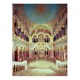 Cartão Postal A sala do trono do sul