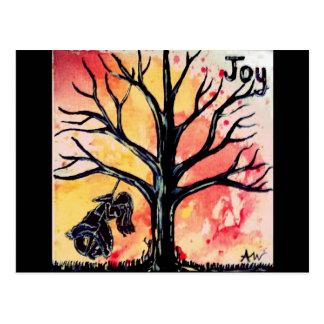 Cartão Postal A série da árvore: Alegria
