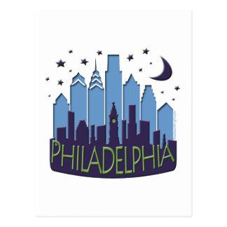 Cartão Postal A skyline de Philly mega esfria