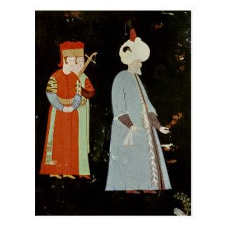 Cartão Postal A sultão Suleyman o magnífico