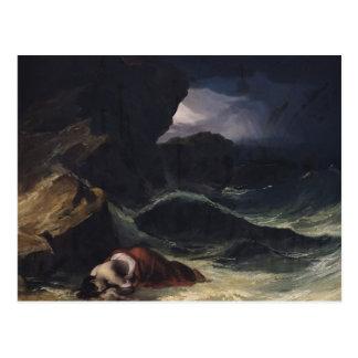 Cartão Postal A tempestade, ou o Shipwreck