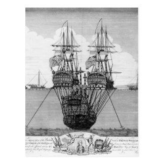 Cartão Postal A tentativa feita para salvar o HMS real