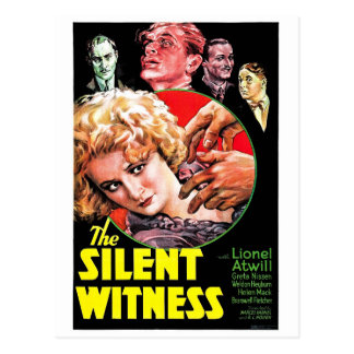 Cartão Postal A testemunha silenciosa