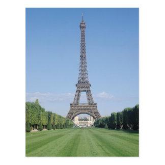 Cartão Postal A torre Eiffel