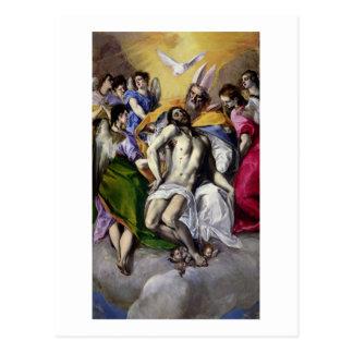 Cartão Postal A trindade, 1577-79 (óleo em canvas)