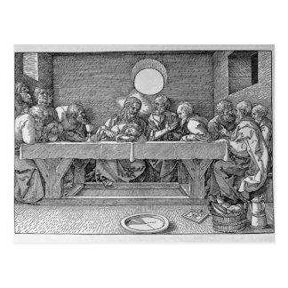 Cartão Postal A última ceia, bar. 1523